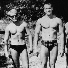 Arnold Alois Schwarzenegger în tinerețe