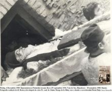 Înmormântarea Părintelui Arsenie Boca