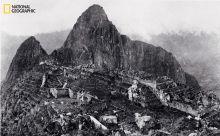 Machu Picchu, Peru, în 1913