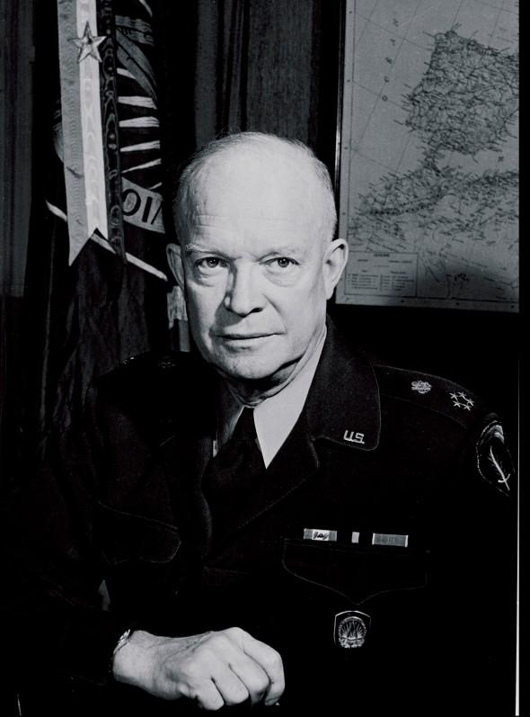 Dwight David Eisenhowe (n. 14 octombrie 1890 - d. 28 martie 1969) În funcție20 ianuarie 1953 – 20 ianuarie 1961