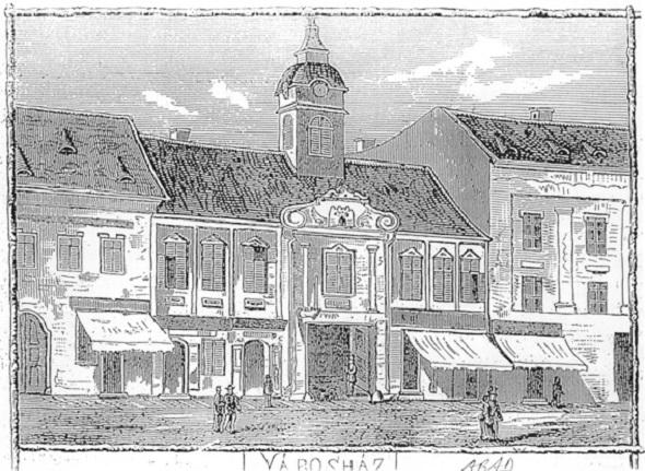Primaria Aradului (demolata) - 1870