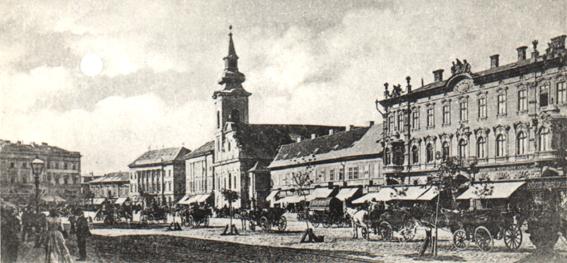 Vechea biserica Minorita (catolica) - 1899