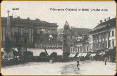"Teatrul, Palatul ""Bohus"" si Hotel ""Crucea Alba"""