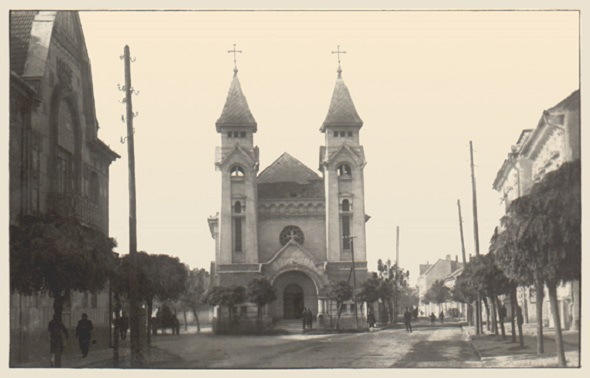 Biserica Greco-Catolica, azi Biserica Ortodoxa (Str. Mihai Eminescu) 1931