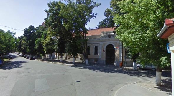 sediul biserici ortodoxe (construit 1863) - iulie 2009