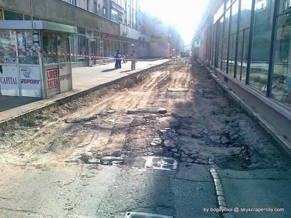 Strada Mețianu (august 2010)