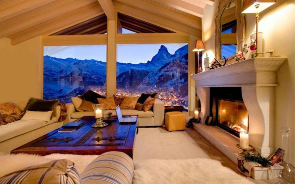 Cabana Firefly, în Zermatt, Elveţia.