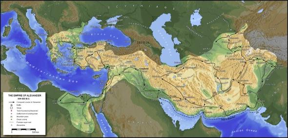 Imperiul Macedonian in perioada lui Alexandru cel Mare