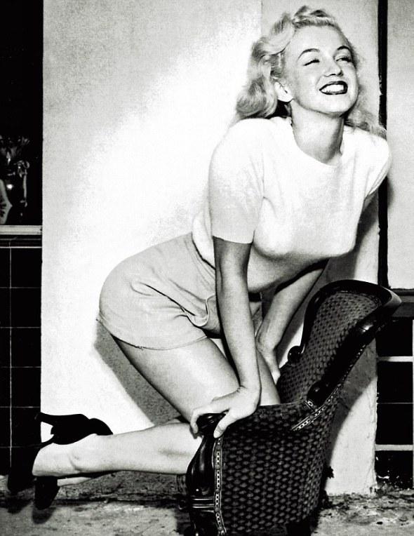 """Marilyn Monroe, în 1949, anul în care a apărut în filmul """"Love Happy"""""""