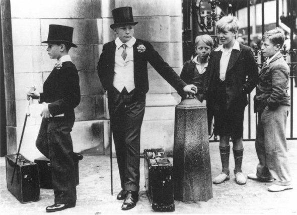 Diferențele de clasă, Marea Britanie, 1937