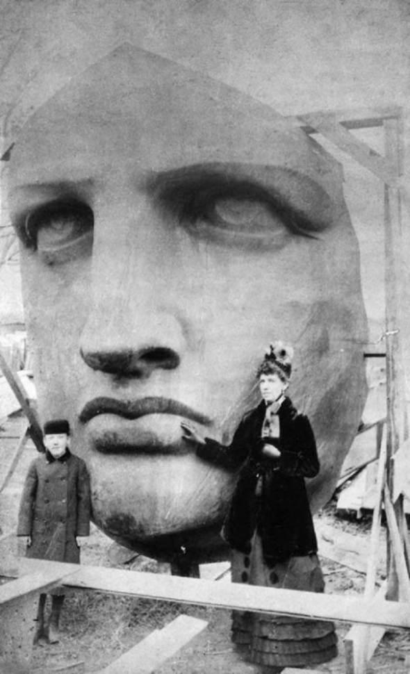 Despachetarea Statuii Libertății, 1885